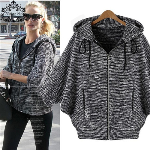 Big Size Cardigan Woman Basic Jackets