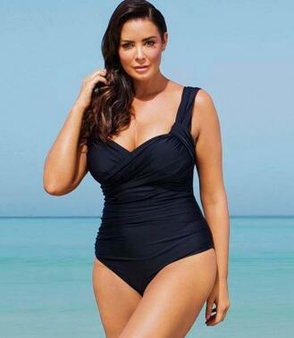 hot hselling large size swimsuit big woman
