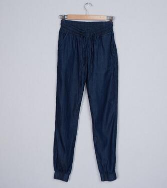 new leisure loose waist jeans small feet